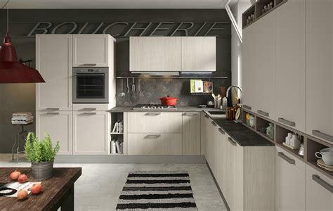 cuisines integrees cuisine intégrée avec poignées intégrées contempo abaco