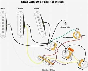 Fender Squier Guitar Wiring Diagram