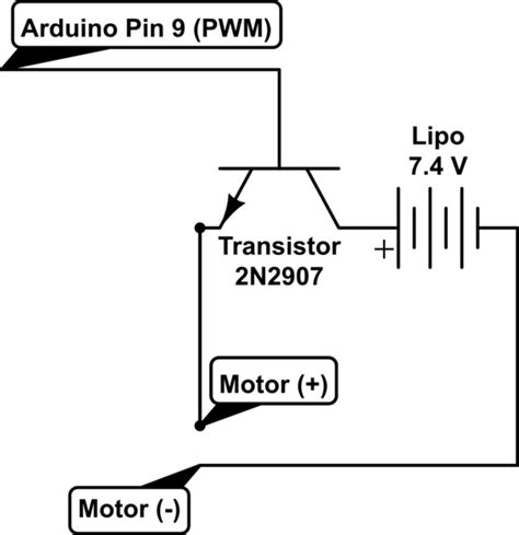Transistor Arduino Loss Voltage Electrical