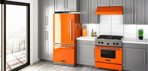 orange kitchen appliances big chill kitchen appliances orange refrigerators
