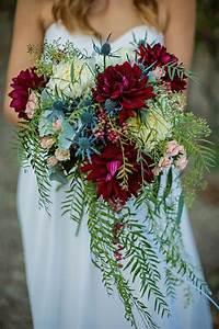 Good Advertisements Ideas 40 Burgundy Wedding Bouquets For Fall Winter Wedding