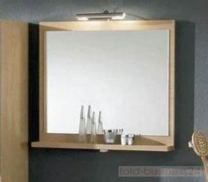 Badspiegel Beleuchtet Mit Ablage : wandpaneel mit spiegel inkl ablage ohne beleuchtung ebay ~ Bigdaddyawards.com Haus und Dekorationen