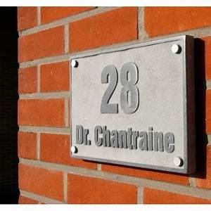 Plaque De Maison Personnalisée : plaque de maison personnalis e avec num ro et nom en ~ Dallasstarsshop.com Idées de Décoration