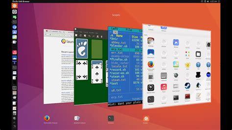 ubuntu 17 04 unity 8 youtube