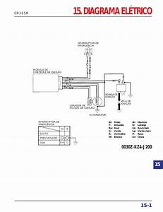Manual De Servi U00e7o Cr125 00 Diagrama