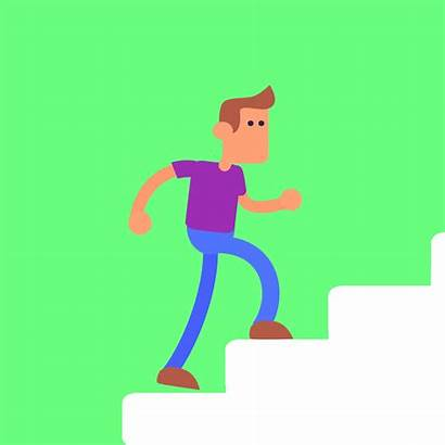 Stairs Animation Climbing Animated Gifs Nhs Running