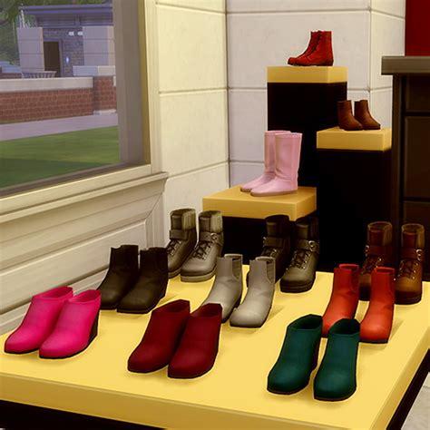 js boutique shoes  sale part  sims  downloads