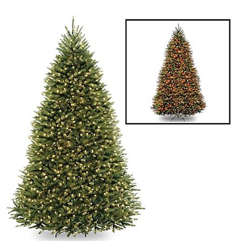buy national tree 10 foot dunhill fir pre lit christmas