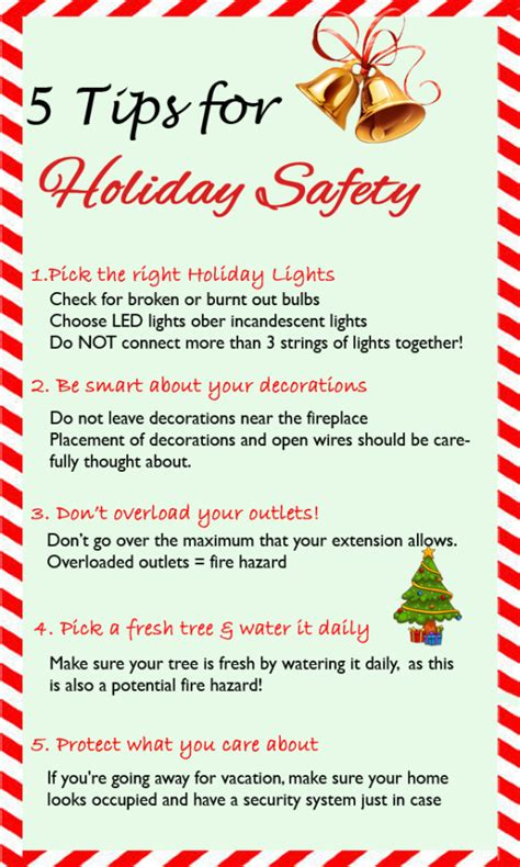holiday safety top  tips  keeping  home safe