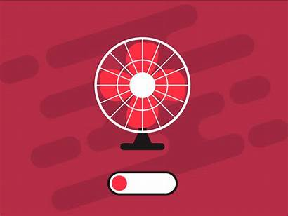 Fan Animation Table Motion Vector Graphic Dribbble