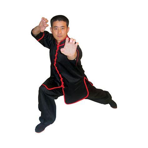 Kung Fu Best by Tiger Claw Interloop Kung Fu Black Top On Sale Starting