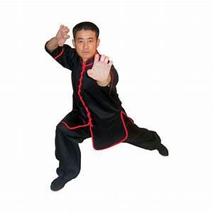 TIGER CLAW INTERLOOP KUNG FU BLACK TOP on sale starting ...