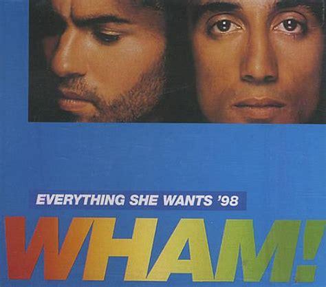 wham all she wants wham everything she wants 98 austrian cd single cd5 5
