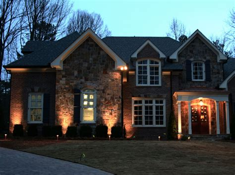 House Down Lighting Outdoor Accents Home With Accent Ideas