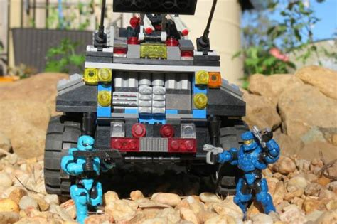 Share Project Custom UNSC vehicle | MEGA™ Unboxed