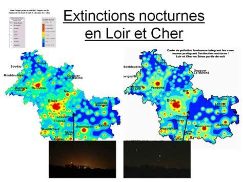 Carte De Pollution Nocturne by Bsa Blois Sologne Astronomie Le Club D Astronomie De