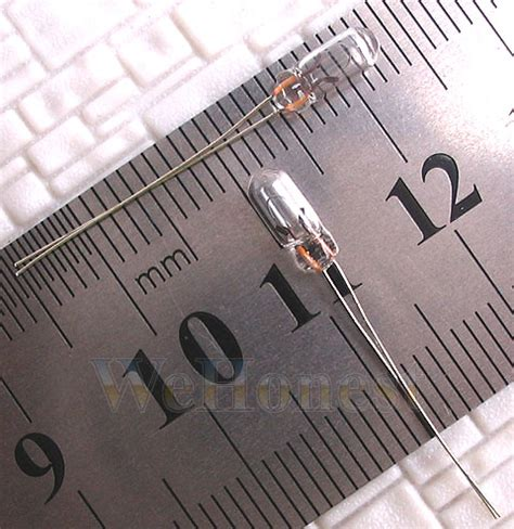 grain of wheat bulbs 20 pcs 3mm clear 12v 100ma mini