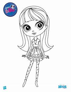 Littlest Pet Shop Coloring Pages For Free 15 Throughout Of