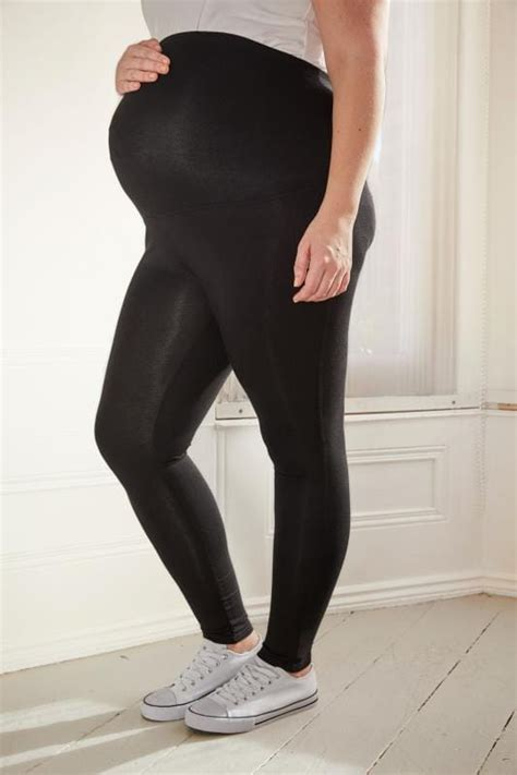 leggings maternity bump cotton elastane comfort panel plus items above