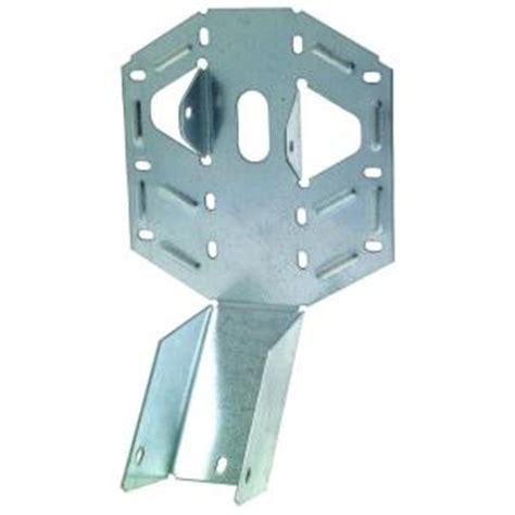 simpson strong tie 2 in x 6 in 18 gauge light adjustable