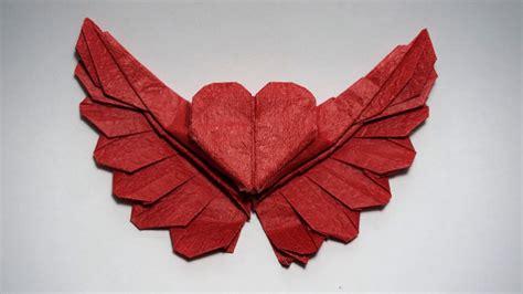 origami winged heart  tutorial henry pham youtube