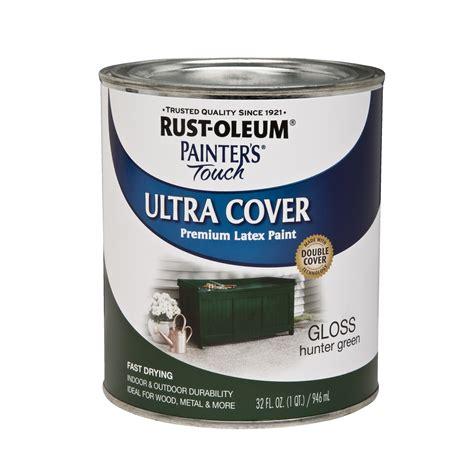 rust oleum ultra cover quart gloss green tools