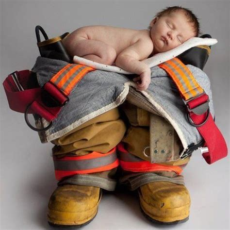 images  firefighter baby photography