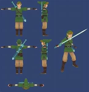 Link   Legend of Zelda Skyward Sword Minecraft Skin