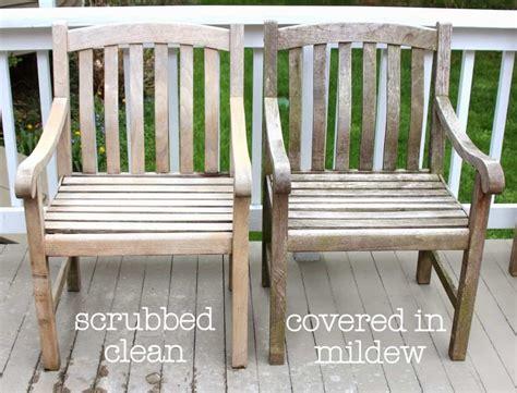 cleaning sealing outdoor teak furniture shine  light