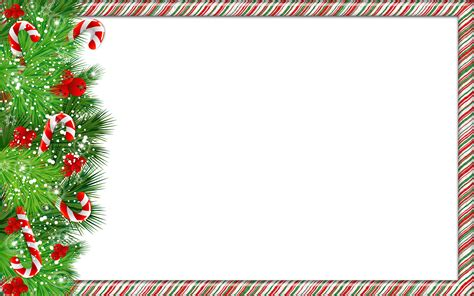 Candy Cane Clip Art Christmas Borders and Frames
