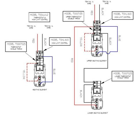 giant water heater wiring