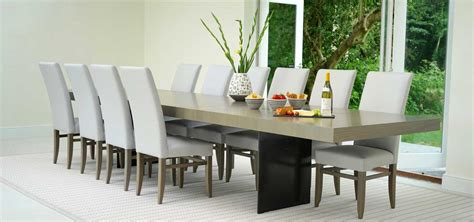 10 seat extendable dining table contemporary dining room awesome big dining room tables contemporary