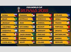 Qualified Teams Footballwood