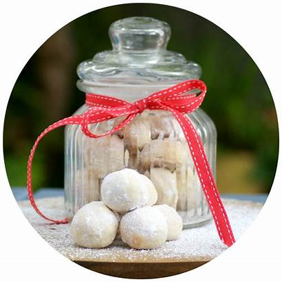 Gift Homemade Edible Cookies Snowballs Something Gifts