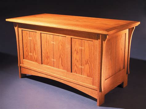Chest Bench Plans by Mission Blanket Chest Popular Woodworking Magazine