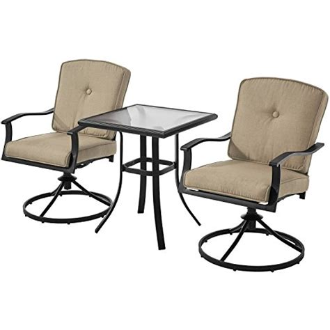 Mainstay Patio Furniture 7 by Mainstays Belden Park 3 Bistro Patio Furniture Set