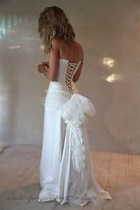 robe de mariee transformable boheme bustier lace With robes de mariée bohème