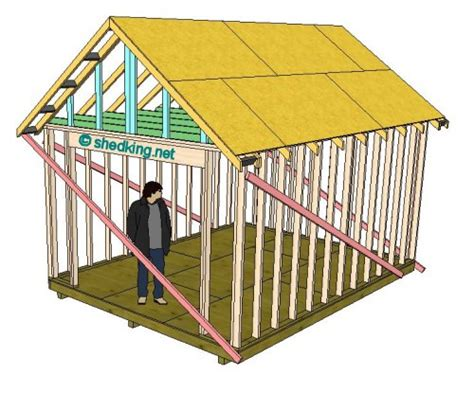 gable roof frame how to build a gable shed roof tiny houses pinterest sheds the o jays and building plans