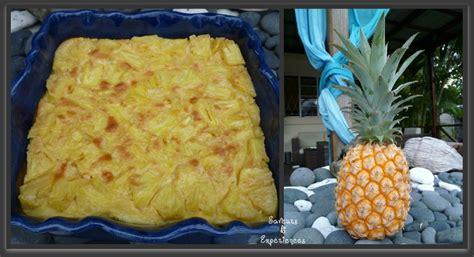 recette dessert ananas frais clafoutis 224 l ananas frais recettes de desserts plus de 1000 recettes sur cakesandsweets fr