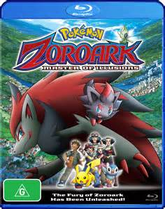 pokemon zoroark master of illusion anime australia