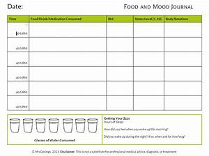 free mood diary for adults julie amateur With mood log template