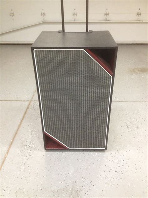 Custom Bass Guitar Speaker Cabinets by Custom Built 2x12 Bass Cabinet Reverb