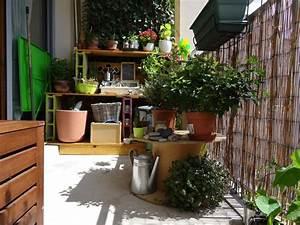 Amenager Petit Balcon Appartement : am nager son balcon pour l t quelques id es carnet ~ Zukunftsfamilie.com Idées de Décoration