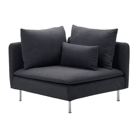 soederhamn corner section samsta dark gray ikea