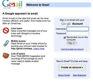 Gmail Email Sign Up