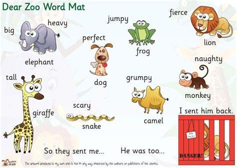 zoo dear animals eyfs activities story labels monkey pet ks1 wild animal preschool display resources classroom ks2 teacher lion key