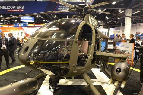 MD 530G Helicopter Fires Laser-Guided Rockets | at DefenceTalk