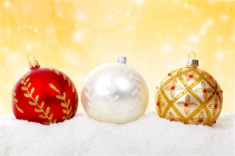 Colorful Christmas Balls Free Stock Photo  Public Domain