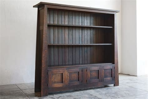 frank lloyd wright style house plans mission style bookcase design doherty house