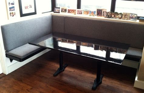 Banquette Table Overhang by 301 Moved Permanently